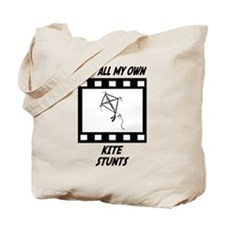 Kite Stunts Tote Bag