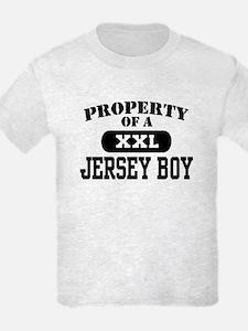 Property of a Jersey Boy T-Shirt