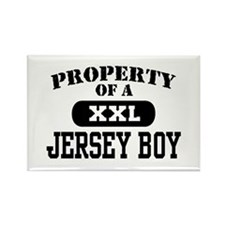 Property of a Jersey Boy Rectangle Magnet