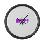 Rett's Large Wall Clock