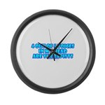 4 outta 5 Voices Large Wall Clock