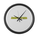 Bubble Wrap Is Cheap Large Wall Clock