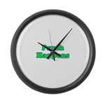 Psych Happens Large Wall Clock