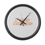 Party Animus Large Wall Clock
