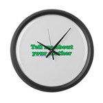 Tell Me About Your Mother Large Wall Clock