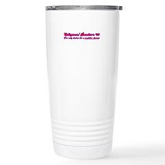 Seligman/ Bandura '08 Stainless Steel Travel Mug