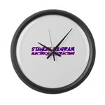 Milgram Electrical Contractor Large Wall Clock