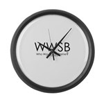 Who Would Sue Blame? Large Wall Clock