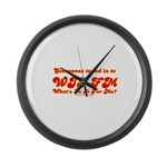 WII FM Large Wall Clock