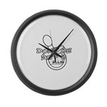Dont Be An F B Large Wall Clock