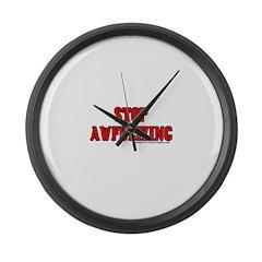 Stop Awfulizing Large Wall Clock