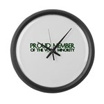 Proud Member of The Vocal Min Large Wall Clock