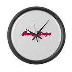Baby Steps Large Wall Clock