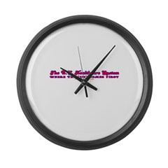 US Healthcare Large Wall Clock
