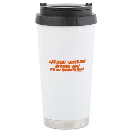 My Parents Fault Stainless Steel Travel Mug