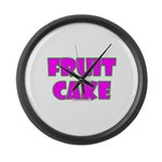Fruit Cake Large Wall Clock