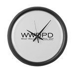 What Would Phil Do Large Wall Clock