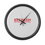 Bethlam Royal Hospital Large Wall Clock