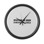 Psych Ward Large Wall Clock