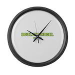 Boulder Model Large Wall Clock