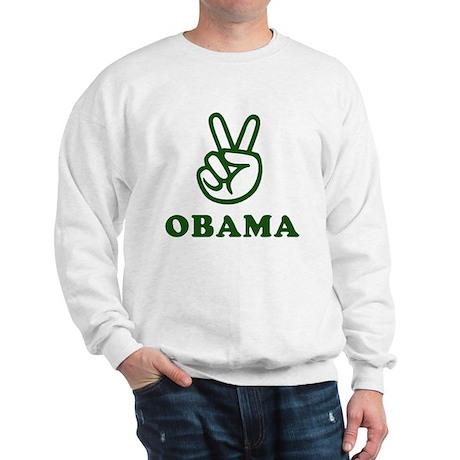 Obama for Peace Sweatshirt