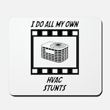 HVAC Stunts Mousepad