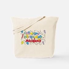 Happy Birthday Abigail Tote Bag