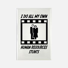 Human Resources Stunts Rectangle Magnet (100 pack)