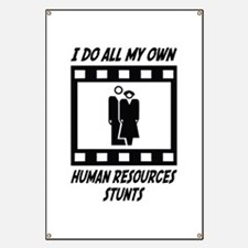 Human Resources Stunts Banner