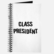 "Class President ""Label Me"" Journal"