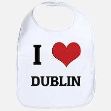 I Love Dublin Bib
