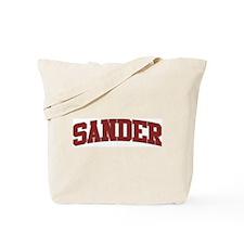 SANDER Design Tote Bag