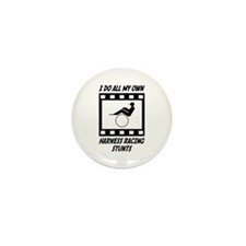 Harness Racing Stunts Mini Button (10 pack)