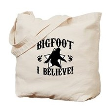 BIGFOOT - I Believe Tote Bag