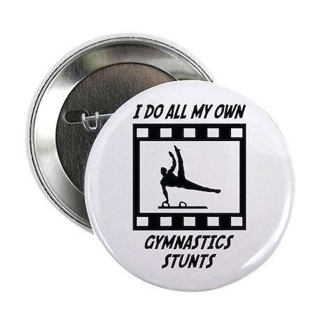"""Gymnastics Stunts 2.25"""" Button (100 pack)"""