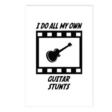 Guitar Stunts Postcards (Package of 8)