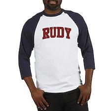 RUDY Design Baseball Jersey