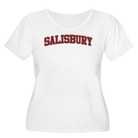 SALISBURY Design Women's Plus Size Scoop Neck T-Sh