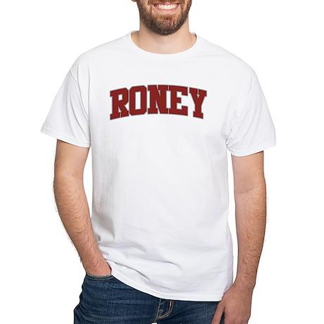 RONEY Design White T-Shirt