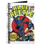 Classic Blue Beetle & Sparky SketchBook