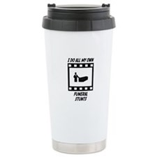 Funeral Stunts Travel Mug