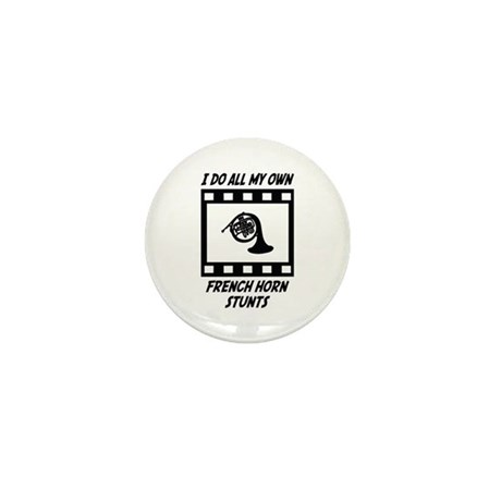 French Horn Stunts Mini Button (100 pack)