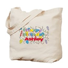 Happy Birthday Ashley Tote Bag