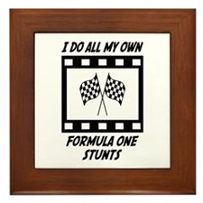Formula One Stunts Framed Tile