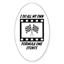 Formula One Stunts Oval Decal