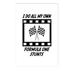 Formula One Stunts Postcards (Package of 8)