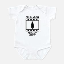 Forestry Stunts Infant Bodysuit