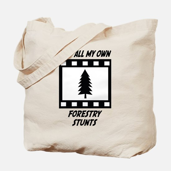 Forestry Stunts Tote Bag