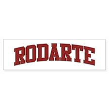 RODARTE Design Bumper Bumper Sticker