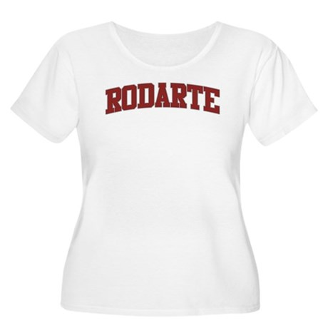 RODARTE Design Women's Plus Size Scoop Neck T-Shir